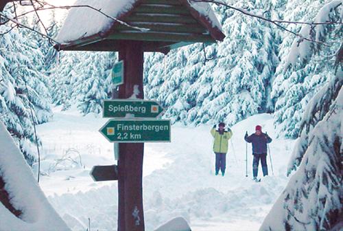 Winter-Wanderurlaub im Thüringer Wald